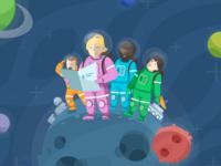 Karmabot Landing Page Illustration