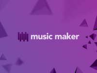 Music Maker Logo and the Website