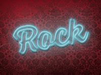 Fluorescent Rock