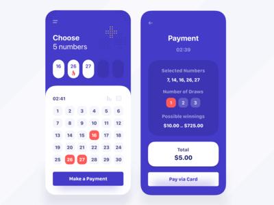 Lottery Mobile App