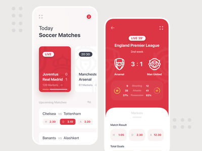 Sportsbook Mobile Red version england arsenal manchester red mobile mobile design mobile app sport betting bet sport mobile ui sportsbook gambling betting