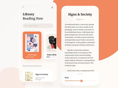 Books Store Mobile App search article subscription ecommerce store bookshop bookstore book books mobile