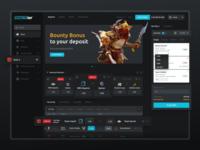 E-Sports Betting Website