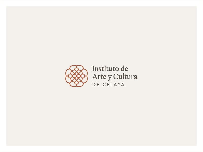 Celaya Art and Culture Institute dirección de arte art direction gráfico diseño design graphic visual identidad identity branding brand logotype logo cultural cultura culture art institute art center arte art