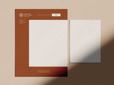 Celaya Art and Culture Institute Stationery 3