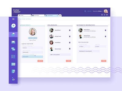 FluxPlan: an accounting & task management software dashboard productdesign icons desktop figma app management accounting design ux ui imaginarycloud