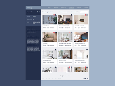Invisible Homes: sell and buy off-market properties platform dashboard house home platform seller buyer property productdesign ux ui imaginarycloud