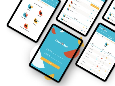 AliCloud: an app to report food and hygiene regulations ui design ipad hygiene safety food report icons ux productdesign imaginarycloud