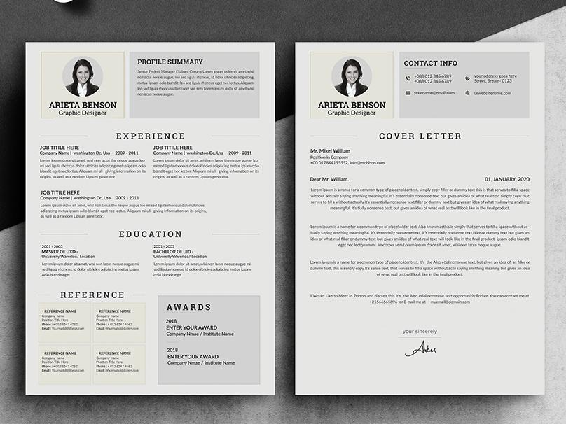 Resume by Amir Hossain on Dribbble