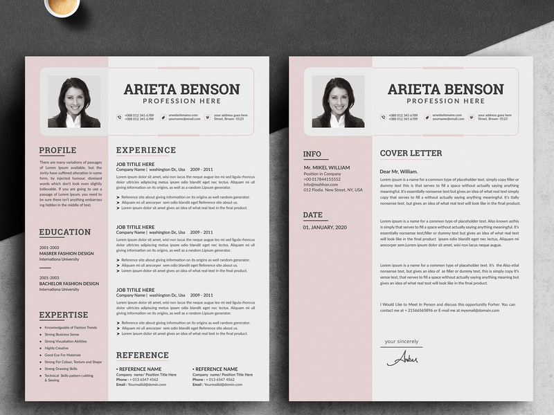 Resume Template word resume template resume template resume layout resume download resume minimalist resume job resume clean resume design classic resume 3 page resume cover letter clean resume clean cv clean bundle bright blue a4