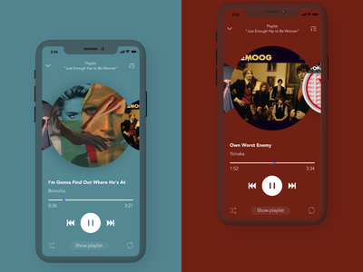 Music player — daily UI 009 concept music player ui player app daily 100 challenge challenge ui daily music player music flat daily ui 009 daily ui dailyui 2020 009