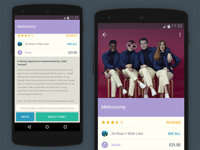 Lollipop  yplan android lollipop app design ui ux startup
