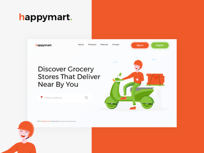 happymart - Discover Grocery Stores