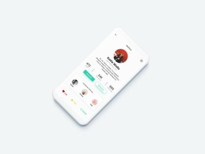 DailyUI 06 - User profile