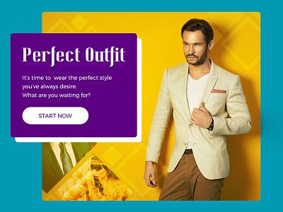 Fashion Card Experiment box product blog website kit fashion card flat widget ui