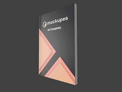 3D Book Mockup 3d magazine 3d book cover 3d mockup mockup magazine book logo blender app 3d ui illustration design mockupea