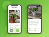 Plant Tinder - #DesignSlices UI Challenge 03