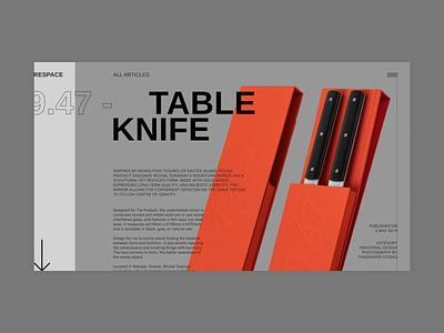 Respace - Article web design clean desktop ui grid minimalism clear minimal