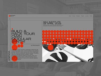 Boom Festival - Single event website clear design desktop clean grid design component ui ui typography promo page minimalism minimal interface information brutalist