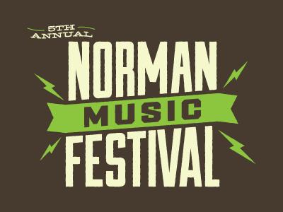 NMF5 norman music festival shirt