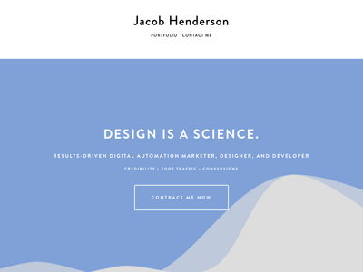 Jacob Henderson's Personal Business Site