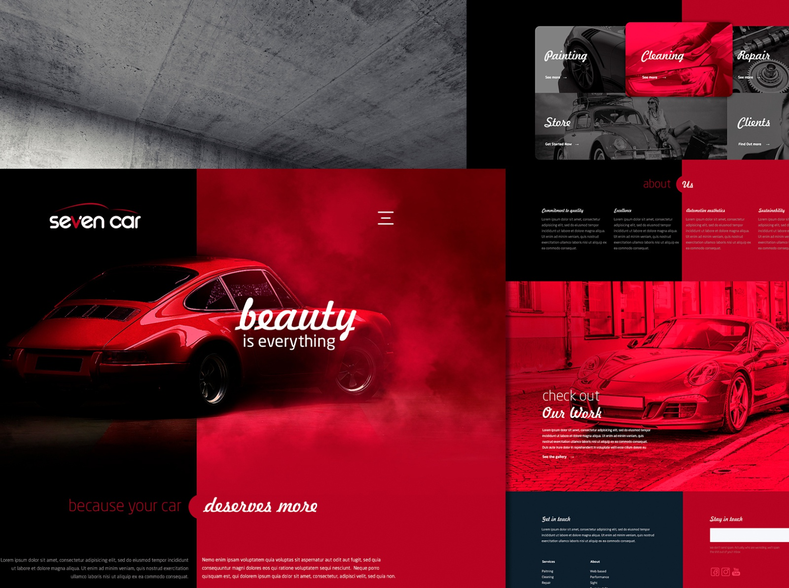 Car Aesthetics - Home Concept by Tadeu on Dribbble