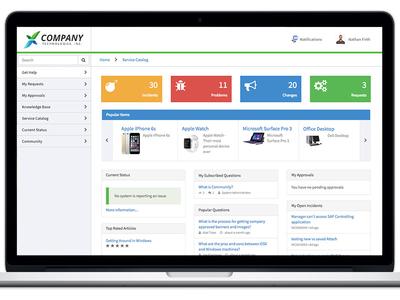Self Service Portal Theme