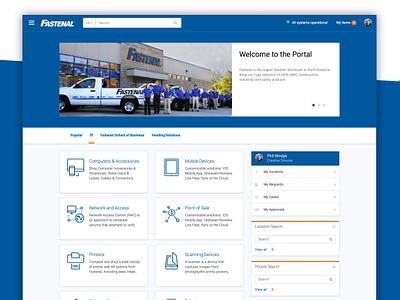 Fastenal Employee Service Portal employee experience servicenow fastenal self-service portal employee portal employee service portal servicenow service portal service portal serviceportal
