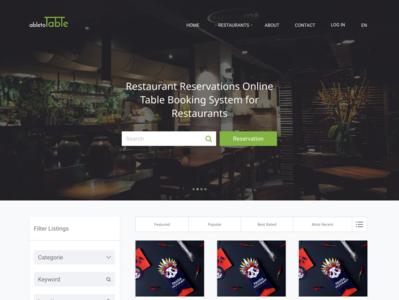 AbleToTable Restaurants reservations