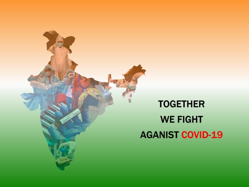 India against covid-19 design
