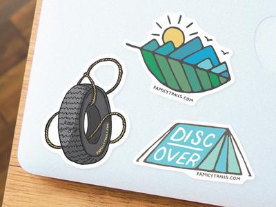 Outdoor Sticker Set