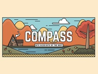 Fall Compass Header