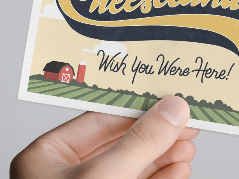Wish You Were Here by Jesse Bowser on Dribbble