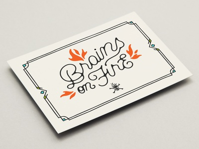 Greeting Card quote font handmade handlettering typography type lettering