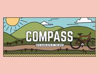 Compass Header - Spring