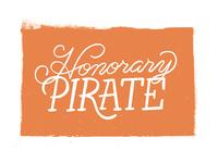 Honorary Pirate