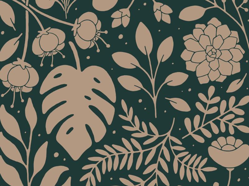 Plants Are Cool green grow apparel shirt illustration plant illustration flower leaf house plants plants plant