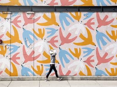 Wall Paint Designs Themes Templates And Downloadable Graphic Elements On Dribbble