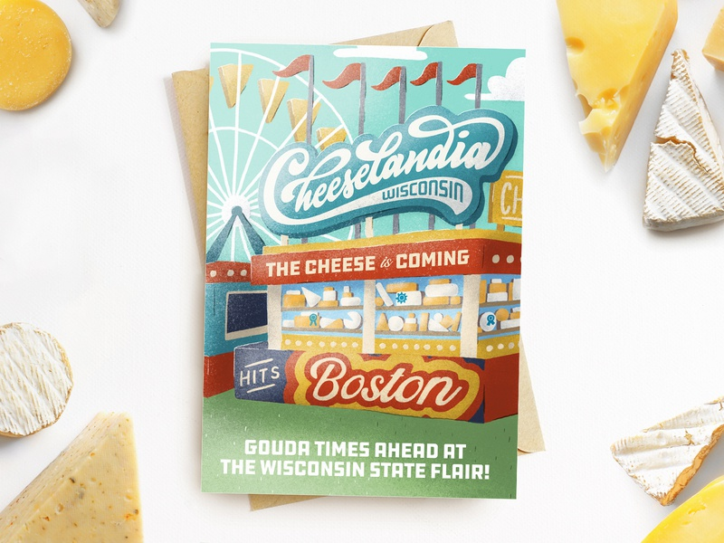 Cheeselandia Boston Invite ferris wheel state fair carnival fair invitation food cheese invite boston cheeselandia