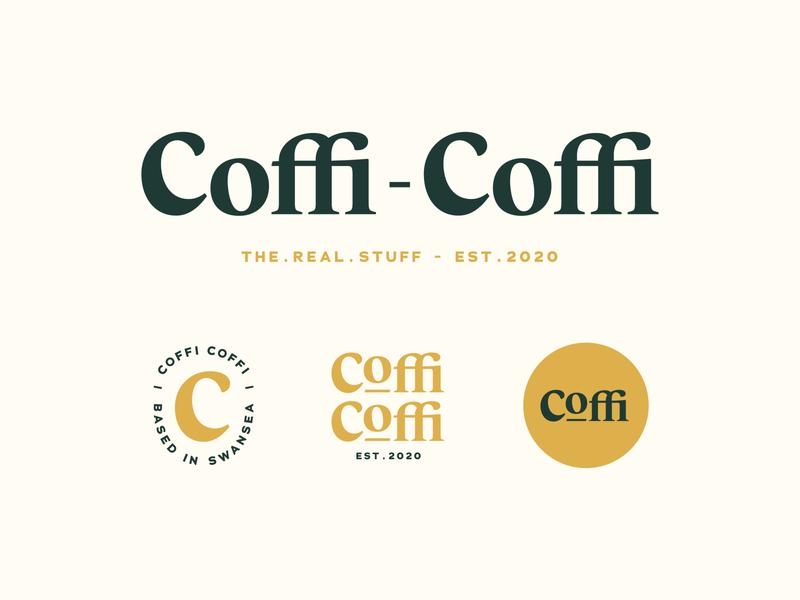 Logo System Design typography logo minimal coffee logo logo design graphic design design typography logo branding