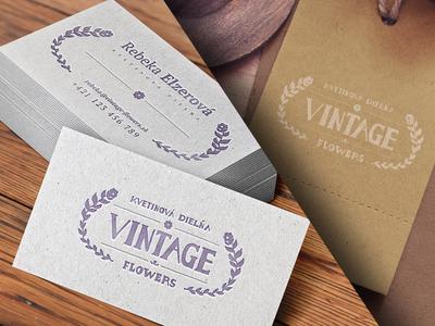 Branding – Vintage Flowers