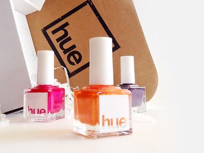 Brand Design / SquareHue nail polish miami bottle packaging graphic design logo branding
