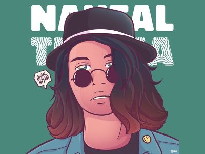 Naufal Trisna - Illustration designer people design character illustration