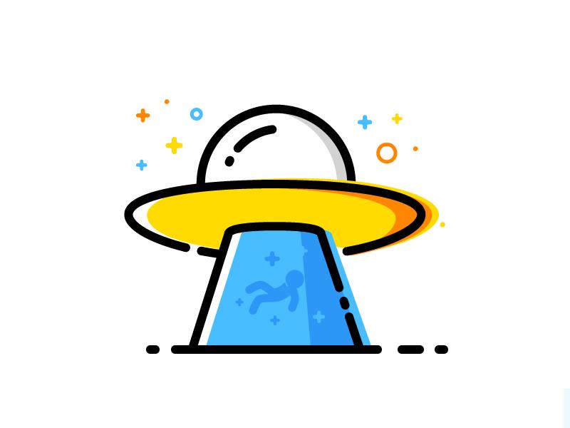 UFO vector illustration identity ufo