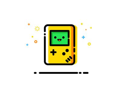 Gameboy game boy nintendo vector identity illustration gameboy