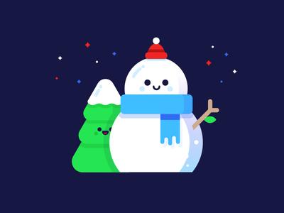 ☃ ice cold hollidays winter santaclaus stars hood happy tree snow christmas snowman