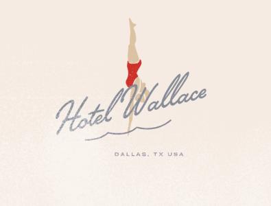 Hotel Wallace Branding