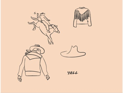 Fossil Brand Illustrations