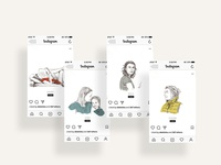 UI Design: Women's Day Social Campaign