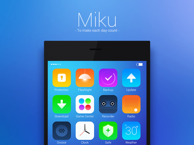 MIUI explore uiwork icon ios7 miui